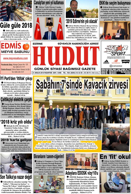 Hudut Gazetesi