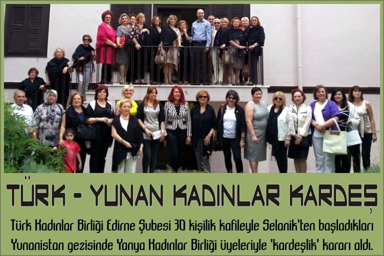 Türk - Yunan kadınlar kardeş
